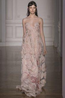 Valentino haute couture платье с розами