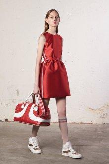 Valentino red красное платье
