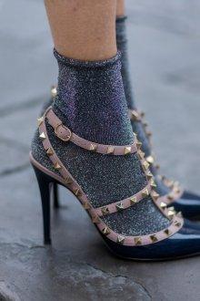 Туфли с шипами Valentino 2018