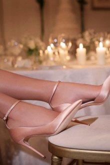 Атласные туфли джимми чу