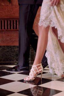 Белые туфли джимми чу