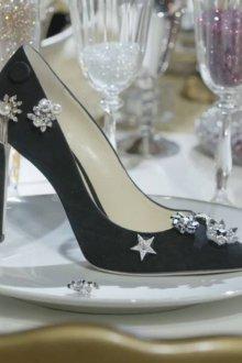 Черные туфли джимми чу