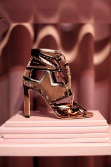 Комбинированные туфли джимми чу