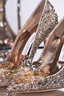 Туфли джимми чу с кристаллами