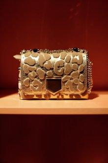 Золотая сумка Jimmy choo