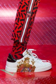 Дольче габбана 2019 мужские кроссовки с принтом