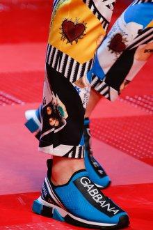 Дольче габбана 2019 мужские синие кроссовки