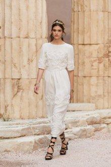 Шанель 2018 белое платье