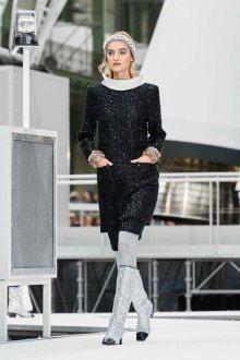 Шанель осень зима 2018 платье