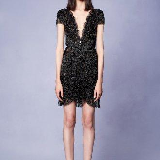 Коктейльное платье 2020 с бахромой