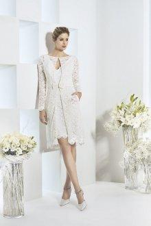 Коктейльное платье 2020 белое