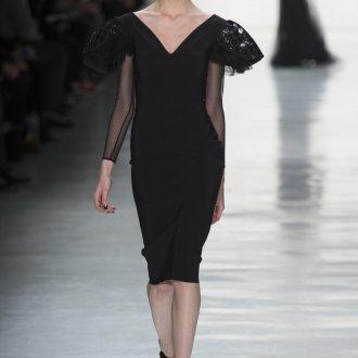 Коктейльное платье 2020 черное
