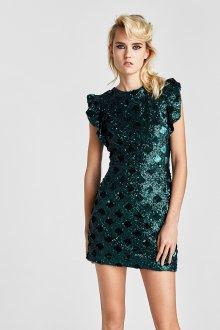 Коктейльное платье 2020 новогоднее