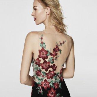 Коктейльное платье 2020 с вышивкой