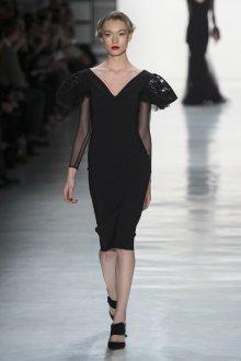 Платье зима 2018 вечернее черное
