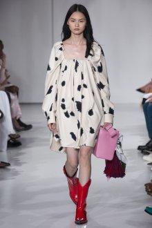 Calvin Klein 2019 красные сапоги