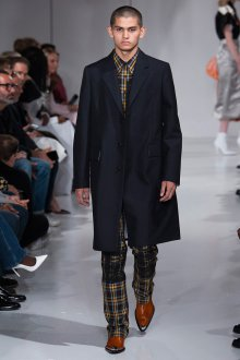 Calvin Klein 2019 мужское черное пальто