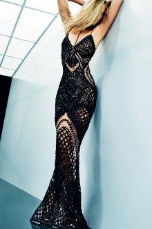 Balmain ажурное платье