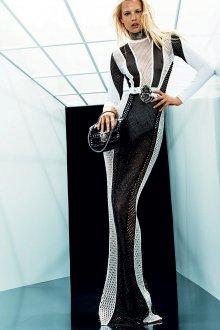 Balmain 2018 длинное платье