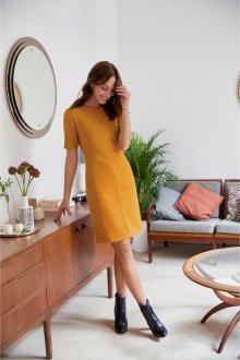Платье для женщины 40 лет желтое