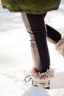 Дутики женские зимние