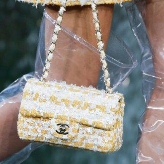 Бренды сумок Chanel желтая