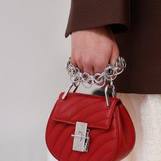 Бренды сумок Chloe красная