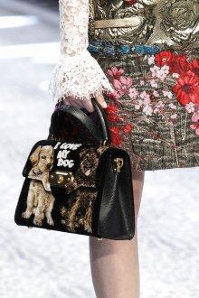 Бренды сумок Dolce Gabbana черная