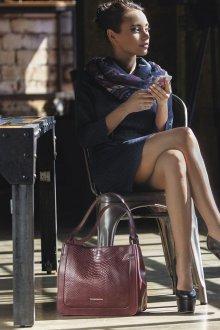 Бренды сумок Francesco marconi бордовая