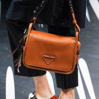 Бренды сумок Prada коричневые