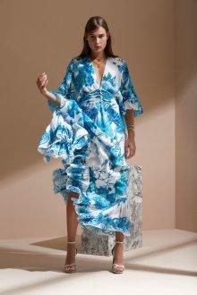 Платье оверсайз с узором