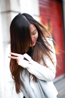 Мелирование 2019 темных азиатских волос