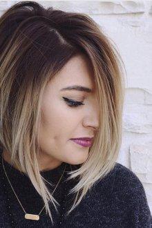 Мелирование 2019 на короткие волосы