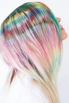 Мелирование 2019 разноцветное