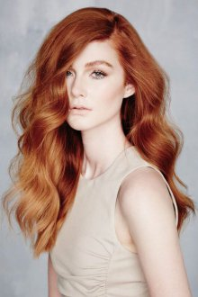Мелирование 2019 на рыжие волосы