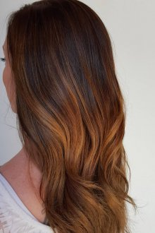 Окрашивание волос 2019 двухцветное