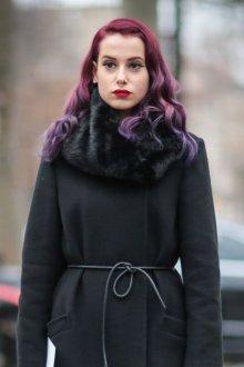 Окрашивание волос 2018 в красный градиент