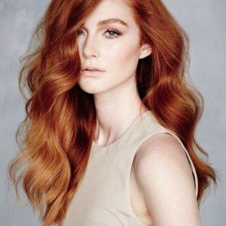 Окрашивание волос 2019 в медный