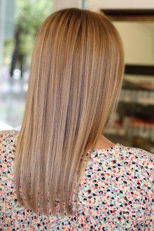 Мелирование светлых волос 2019