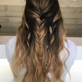 Мелирование 2019 на длинные волосы