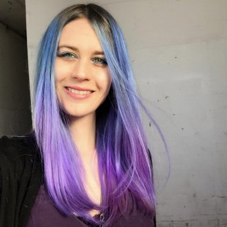 Color melting 2018 синий
