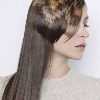 Окрашивание волос пиксельное 2019