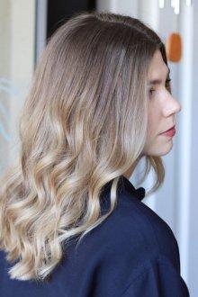 Окрашивание волос 2019 техники
