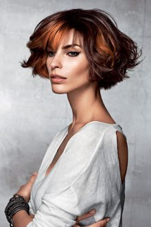 Окрашивание волос 2019 венецианское