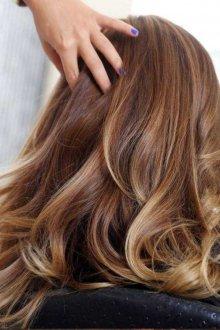 Окрашивание волос 2019 эффект выгорания