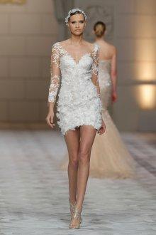 Свадебное платье 2019 с аппликацией