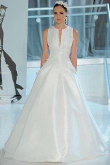 Свадебное платье 2019 атласное однотонное