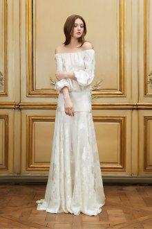 Свадебное платье 2020 атласное