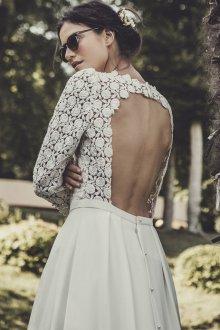 Свадебное платье 2020 с ажурным лифом