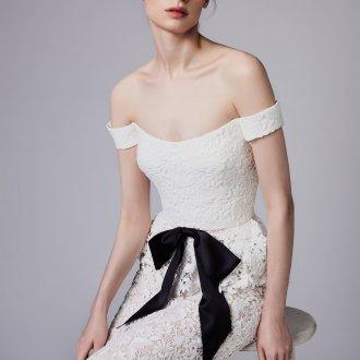 Свадебное платье 2020 с бантом